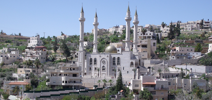 The new mosque of Abu Ghosh
