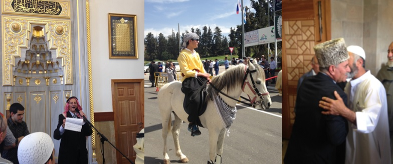 Mihrab horses and mayor