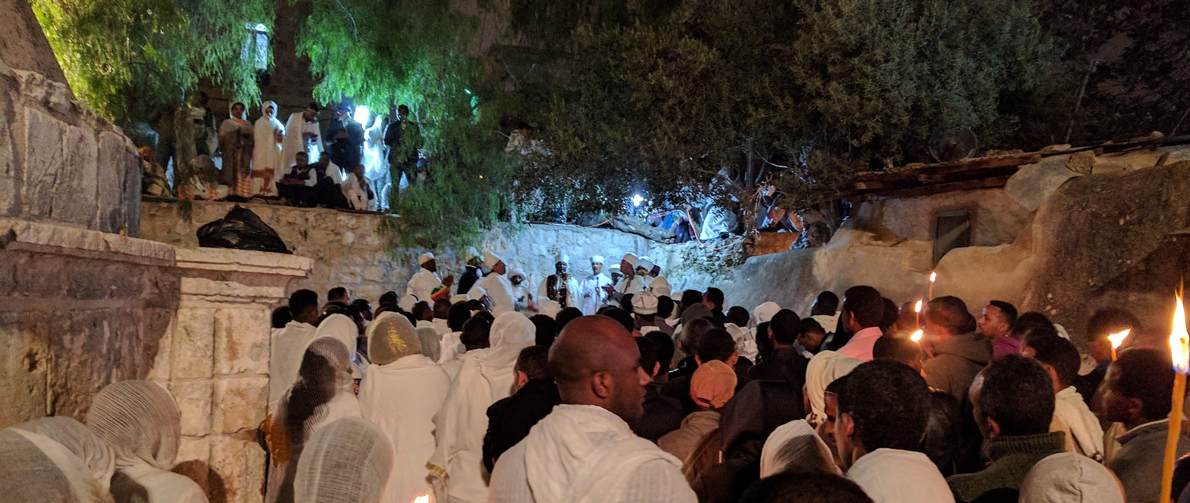 Easter (Fasika) at the Ethiopian Church next to the church of the holy sepulchre